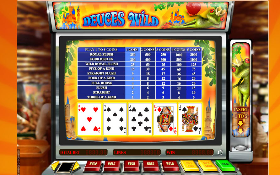 Spiele Deuces Wild (Five Hand) - Video Slots Online