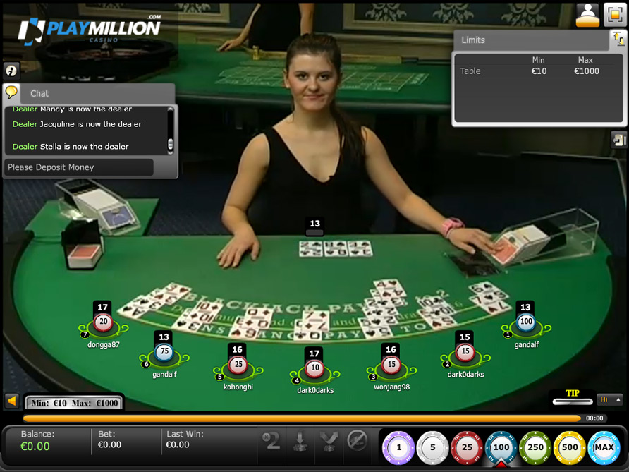 Огляд Live гри Unlimited Blackjack