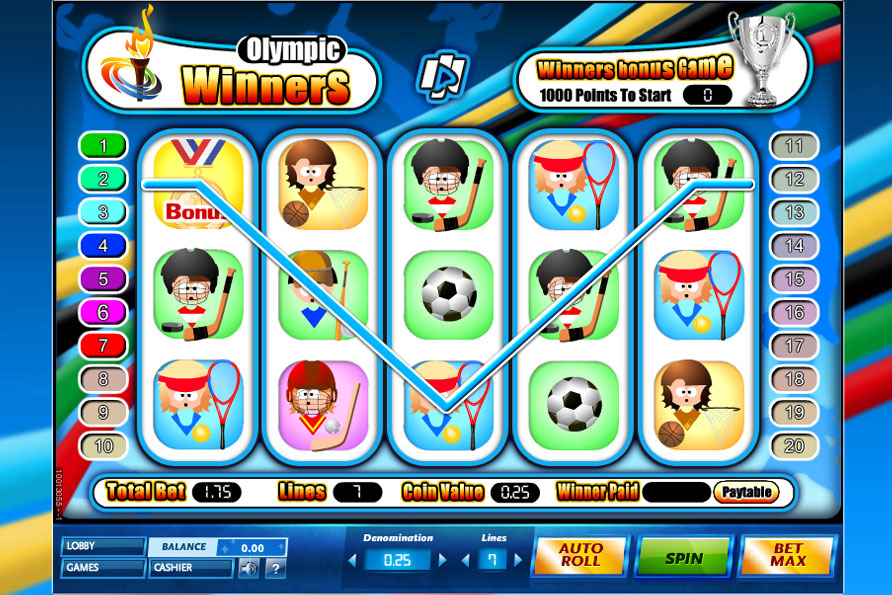 Olympic Winners Slot Machine - Play Free Casino Slots Online
