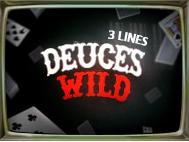 Deuces Wild 3 Lines